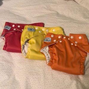 Other - FuzziBunz Pocket cloth diapers